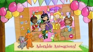 給孩子的公主生日派對拼圖屏幕截圖5