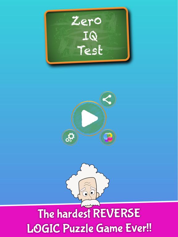 Zero IQ Test - Reverse Logic by Craig Briggs (iOS, United States