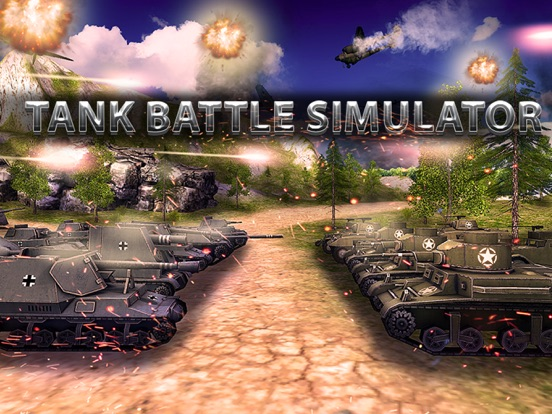 Tanks Battle Simulator Full screenshot 5