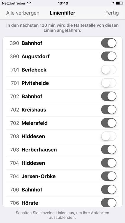Fahrplan SVD Detmold screenshot-3