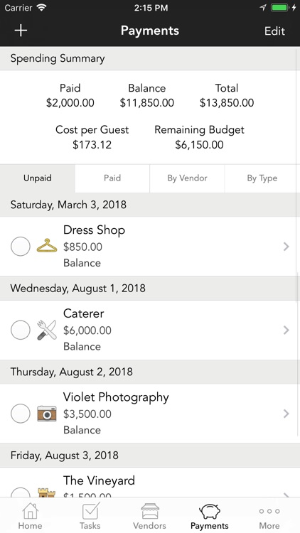 WeddingHappy - Wedding Planner screenshot-3