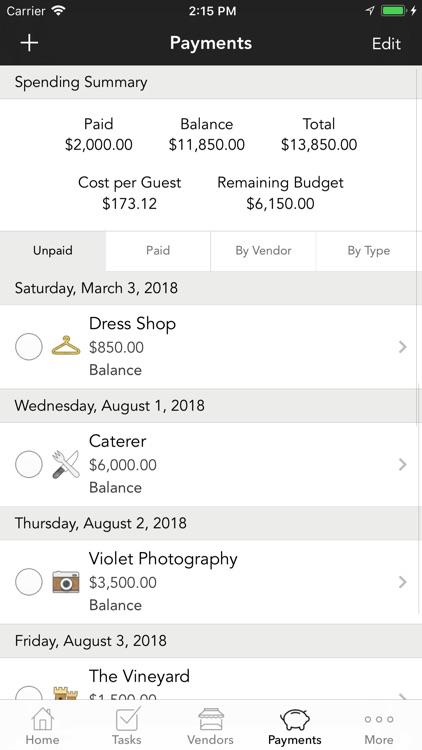 WeddingHappy - Wedding Planner screenshot-3