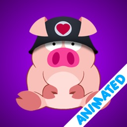 Cute Piggy Commando (animated)