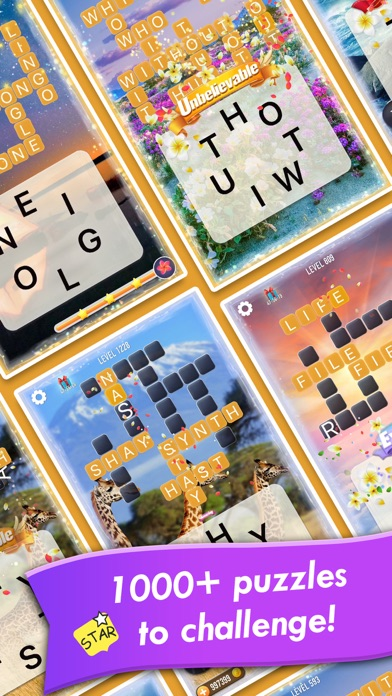 Word Crossy - A crossword game app image
