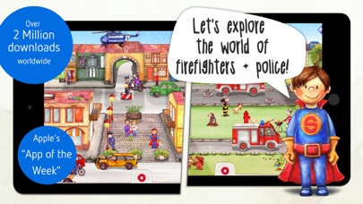 Tiny Firefighters - Kids' App Screenshots