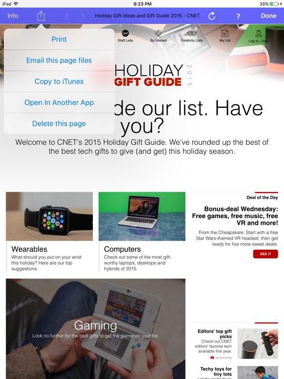 iSaveWeb Pro HD screenshot-3