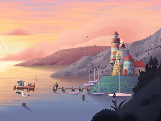 Screenshot #1 for Old Man's Journey