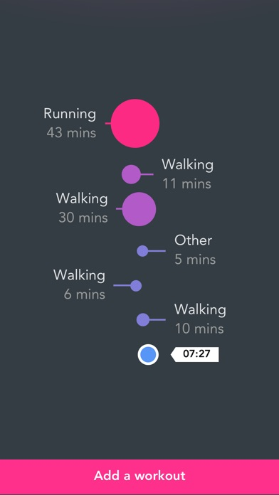 Fjuul - Healthy Activity Coach screenshot two