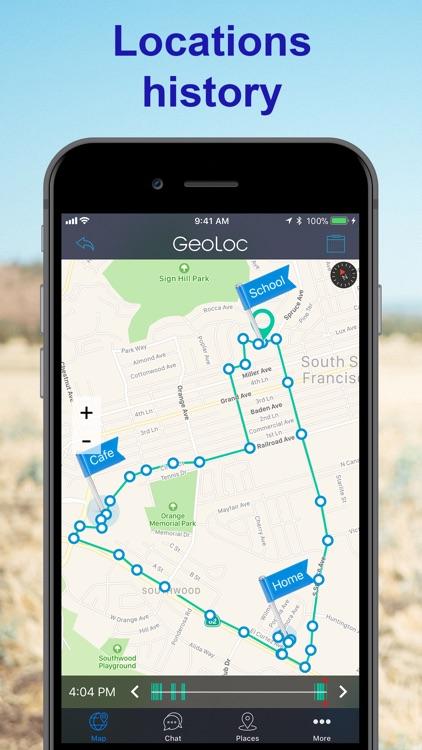 GeoLoc Family Location Tracker screenshot-4