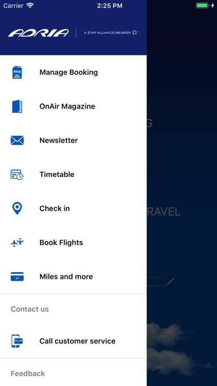 Adria Airways screenshot-5