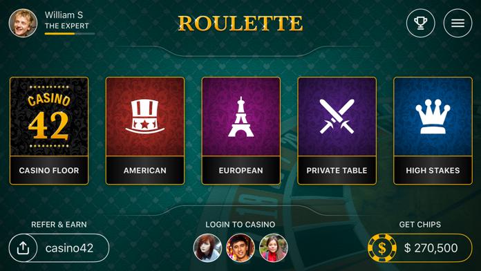 Roulette 42 Screenshot