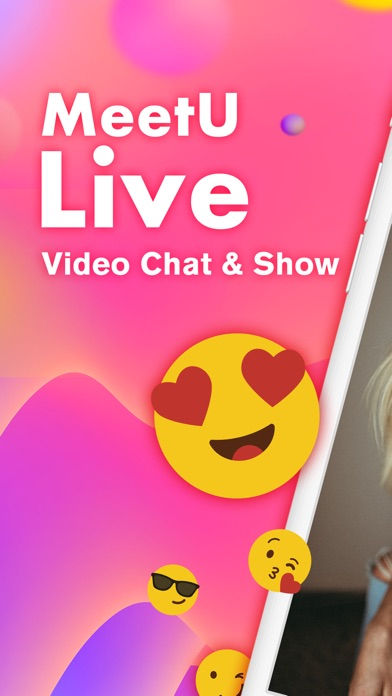 MeetU Live - Video Chat & Show Screenshot