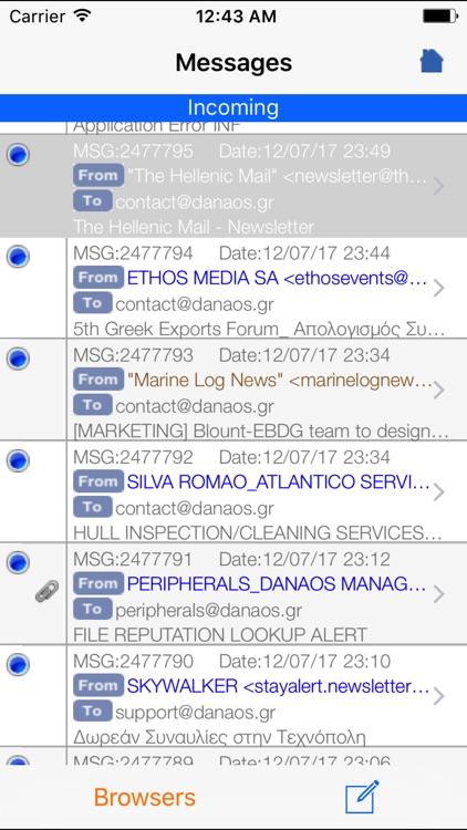 InfoGate OnTheGo for iPhone screenshot-3