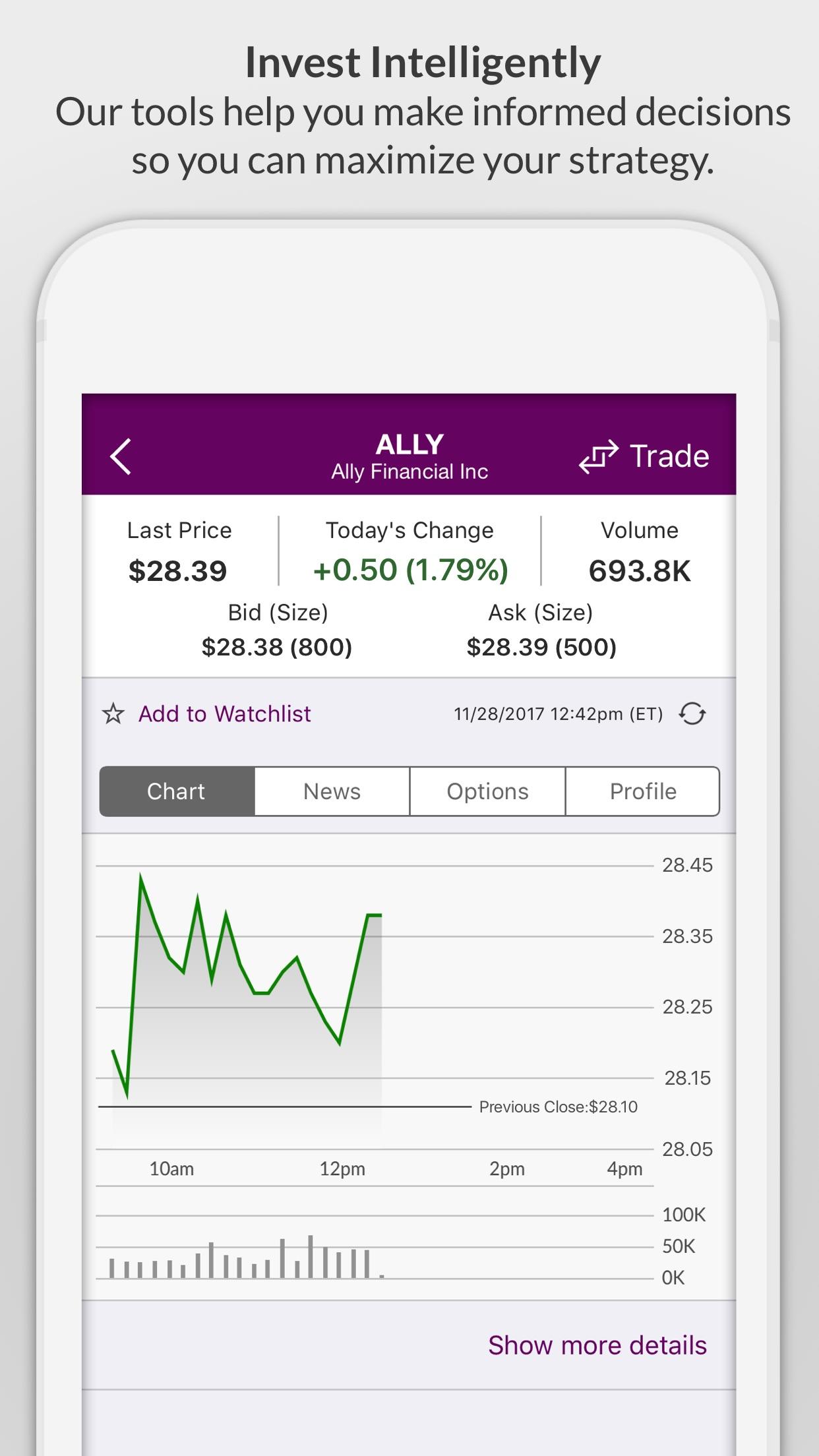Ally Mobile Screenshot