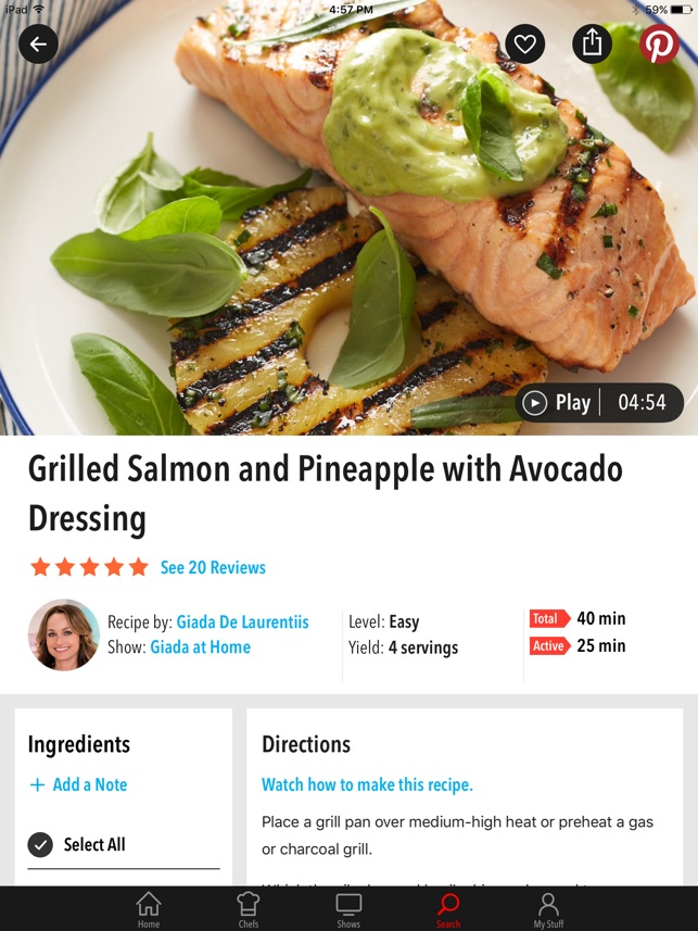 Food network in the kitchen on the app store forumfinder Choice Image