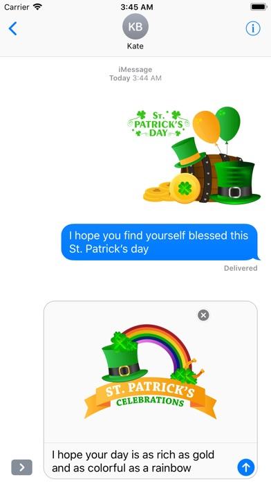 St.Patrick's Day Sticker screenshot 2