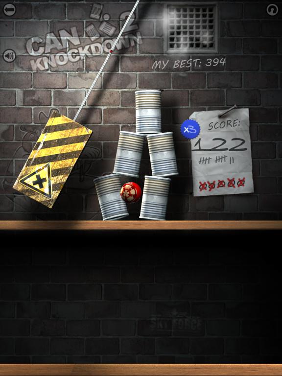 Can Knockdown 2 на iPad