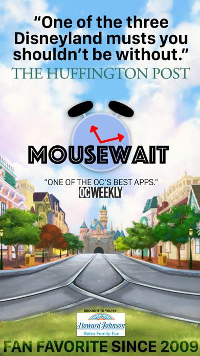 MouseWait Disneyland Lounge Screenshot