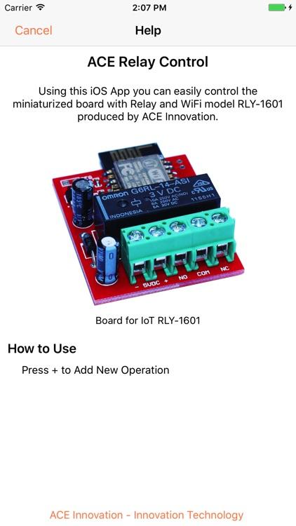 ACE Relay Control screenshot-3