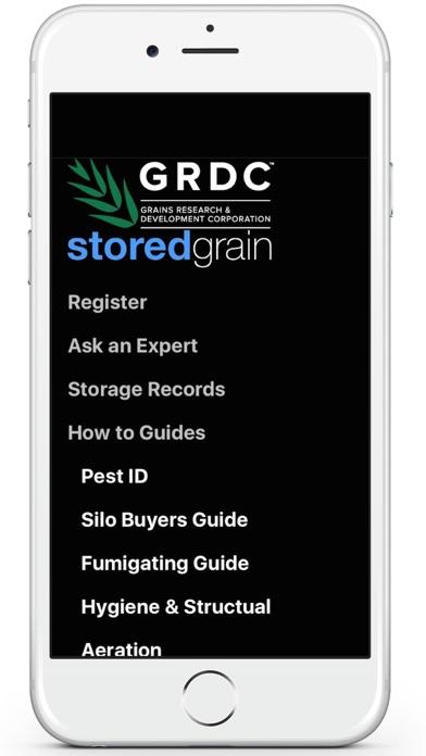 GRDC storedgrain screenshot one
