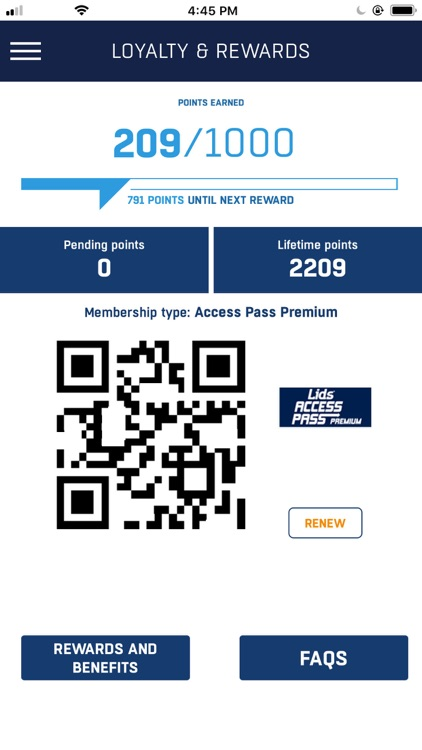 LIDS Access Pass