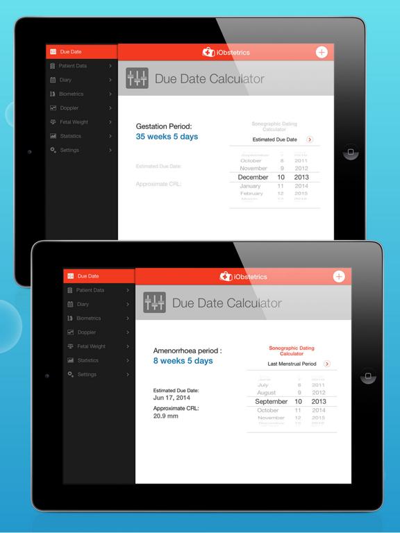 iObstetrics Pro Gold Edition Screenshots