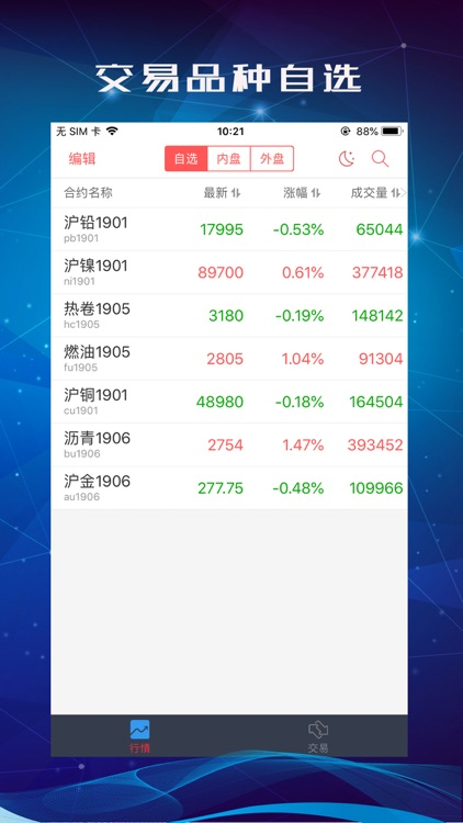 中信期货交易 screenshot-3