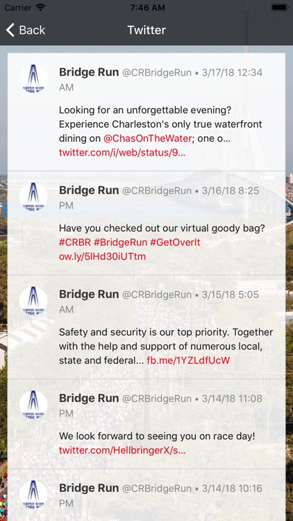 The Cooper River Bridge Run screenshot-3