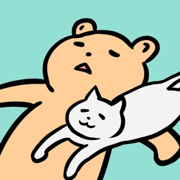 Everyday Bear & Cat Sticker 2