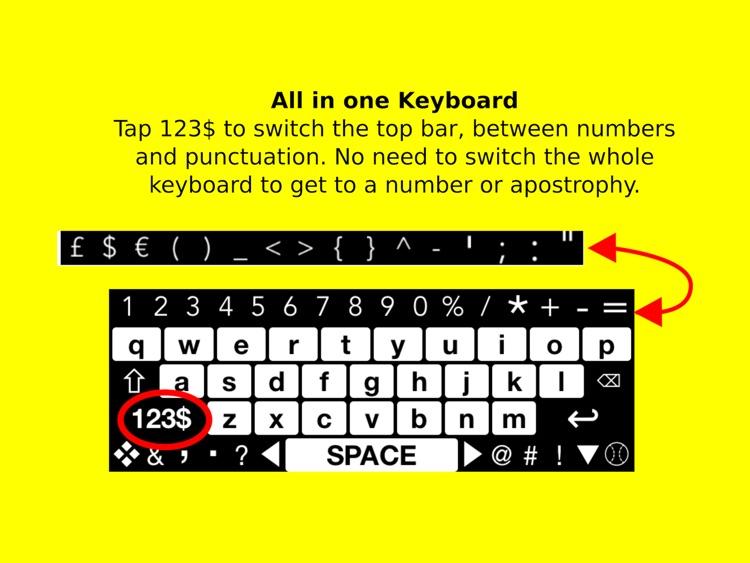 Big Keys Low Vision Keyboard screenshot-4