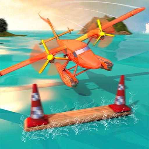 Flying Sea-Plane Games 2018