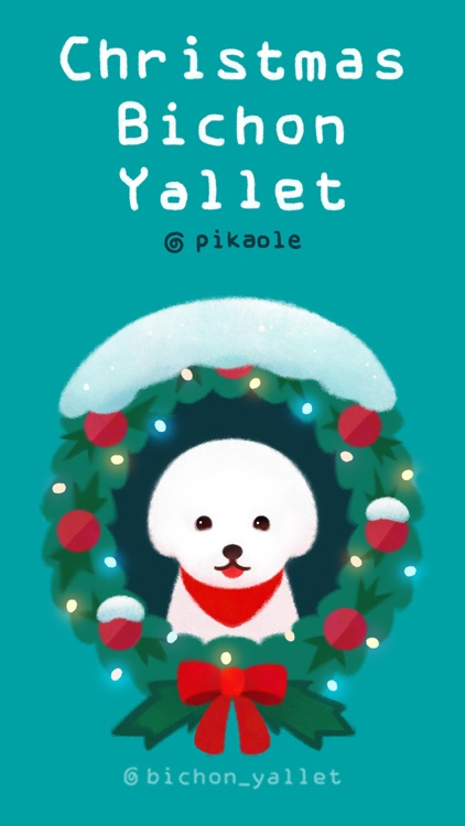 Christmas bichon Yallet screenshot-0