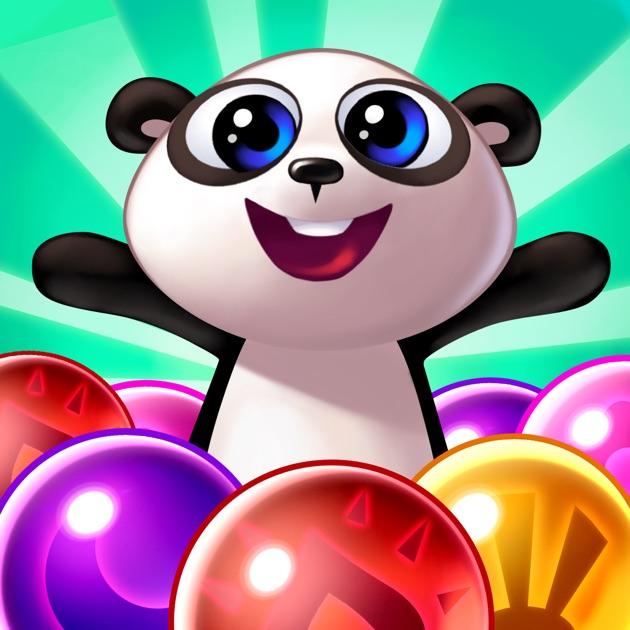 panda pop bubble shooter on the app store. Black Bedroom Furniture Sets. Home Design Ideas