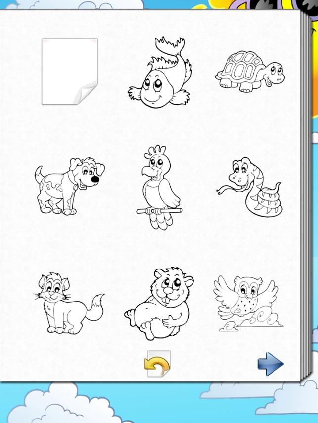 Libro para colorear de niños! en App Store