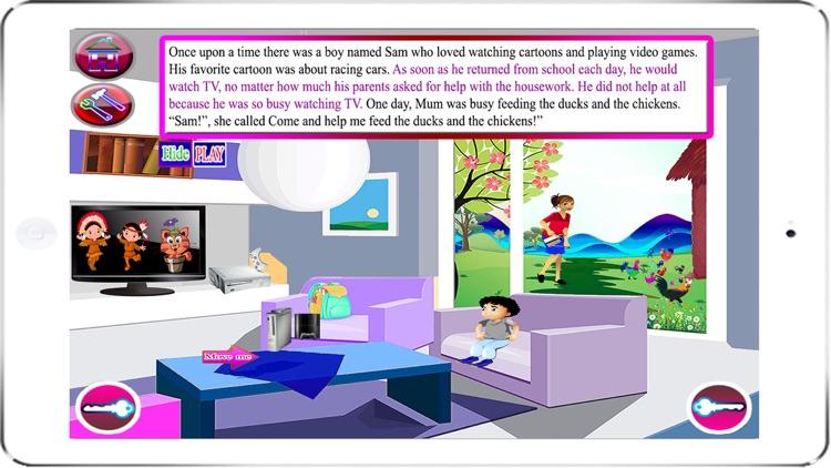 English Lao Style Story screenshot-3