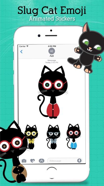 Animated Sluggish Cat Emoji
