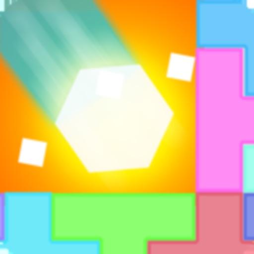 Hexagon Crush the Blocks