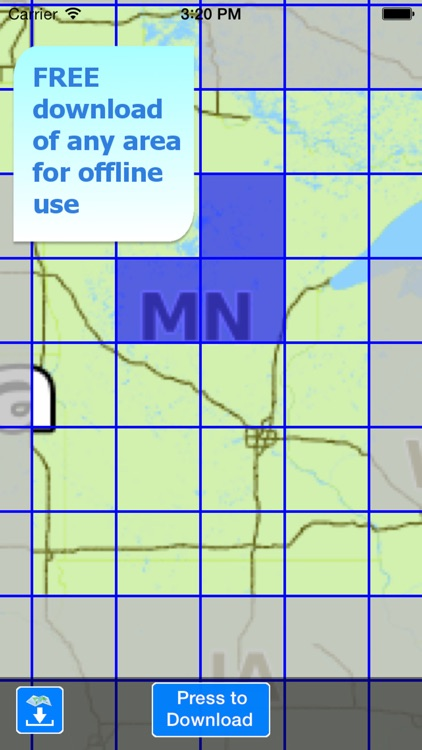 Aqua Map Minnesota Lakes GPS screenshot-4