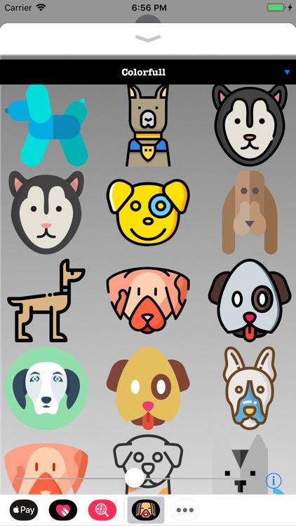 Fun Puppy Dog Stickers