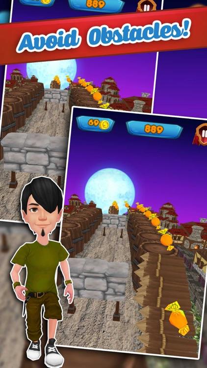 Super Hero Deadly Village Run screenshot-3