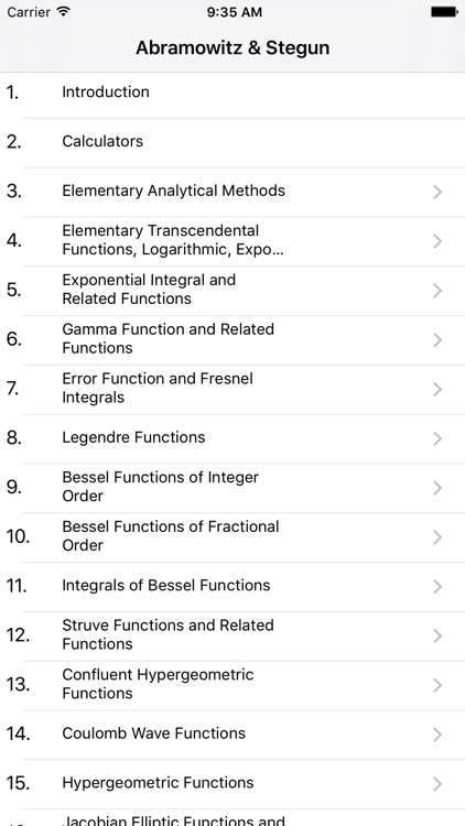 Book of Mathematical Functions