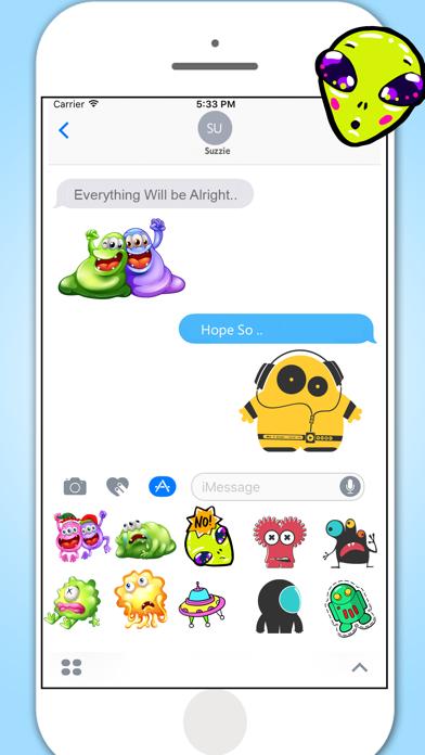 Monster Aliens & Ufo's screenshot three