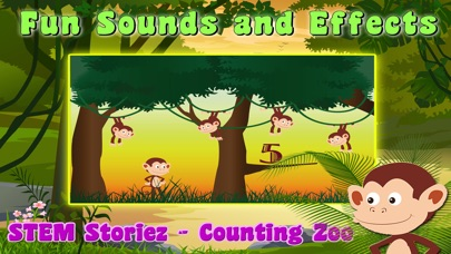 STEM Storiez-Counting Zoo EDU screenshot 3