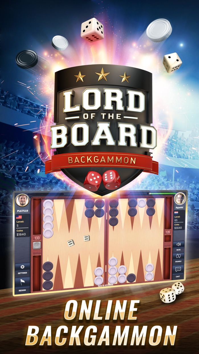 Backgammon - Lord of the Board Screenshot