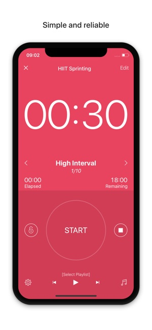 interval timer hiit workouts on the app storeInterval Timer Round Timer Circuit Training Timer Tabata Timer #16