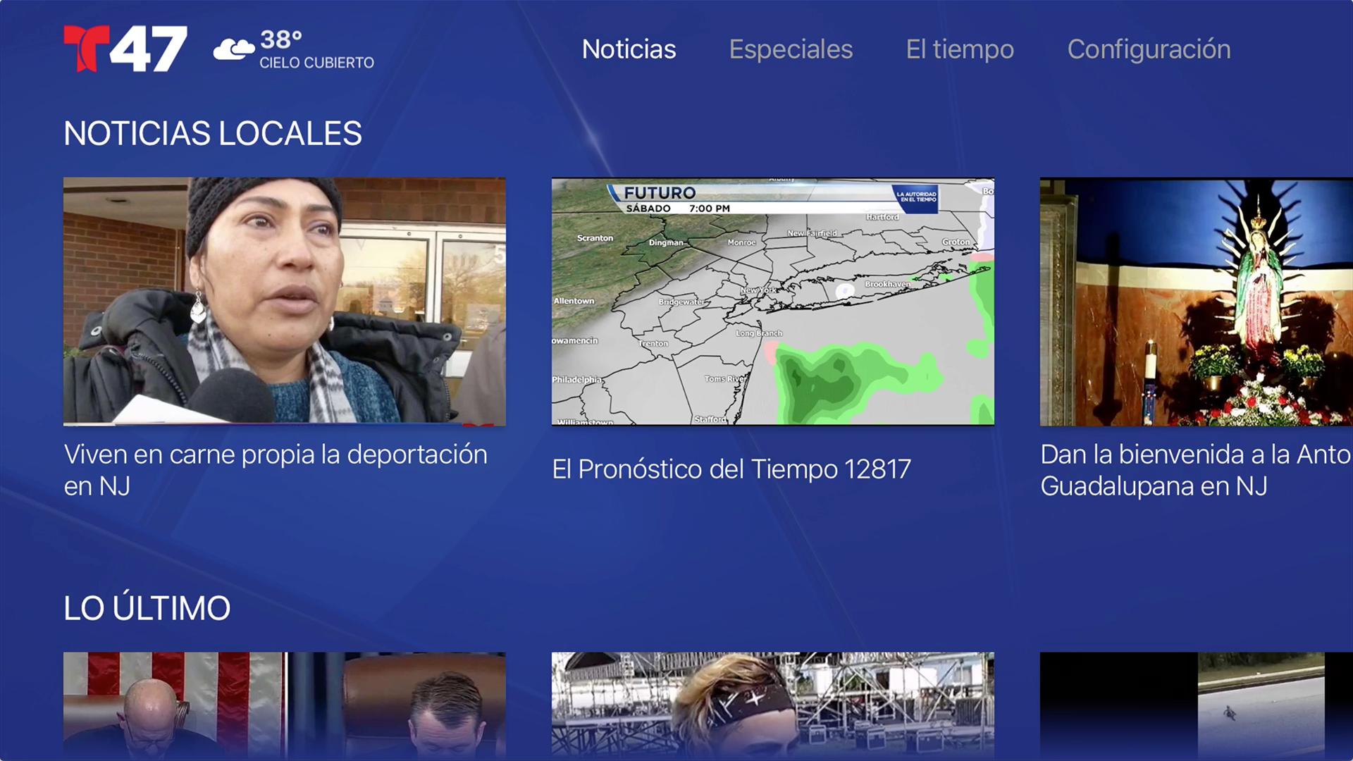 Telemundo 47 screenshot 15
