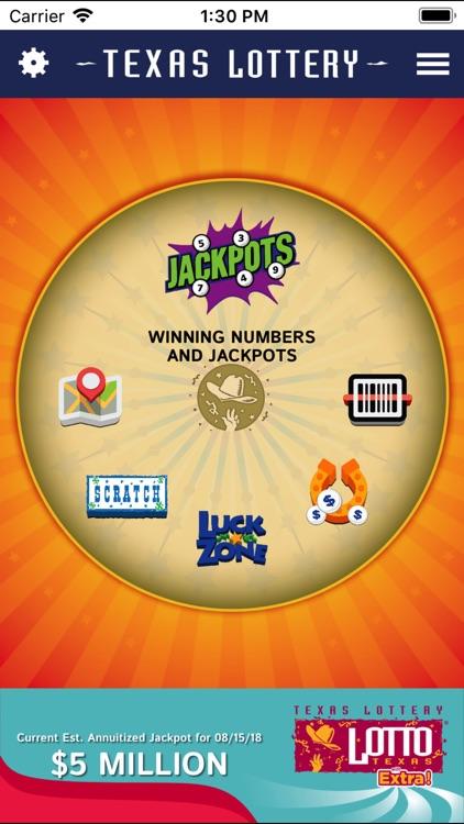 Texas Lottery Official App screenshot-0