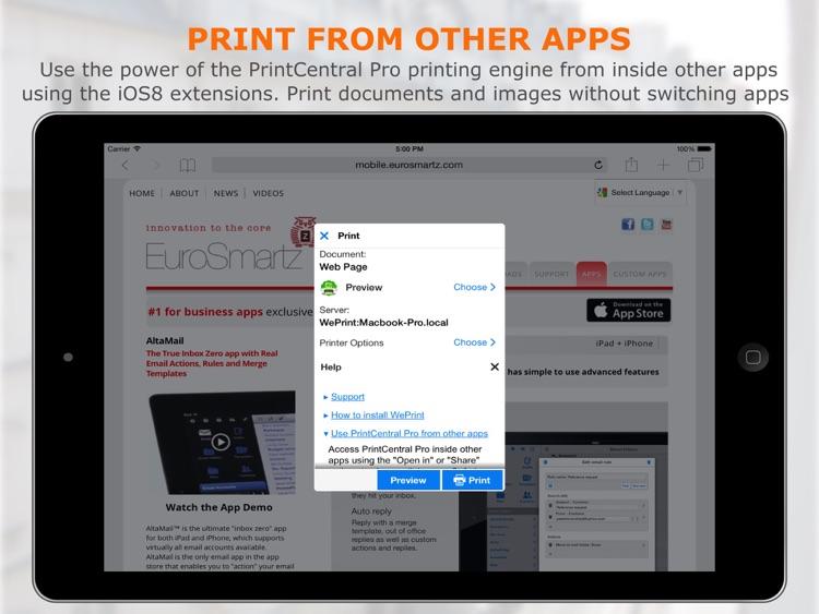 PrintCentral Pro screenshot-3