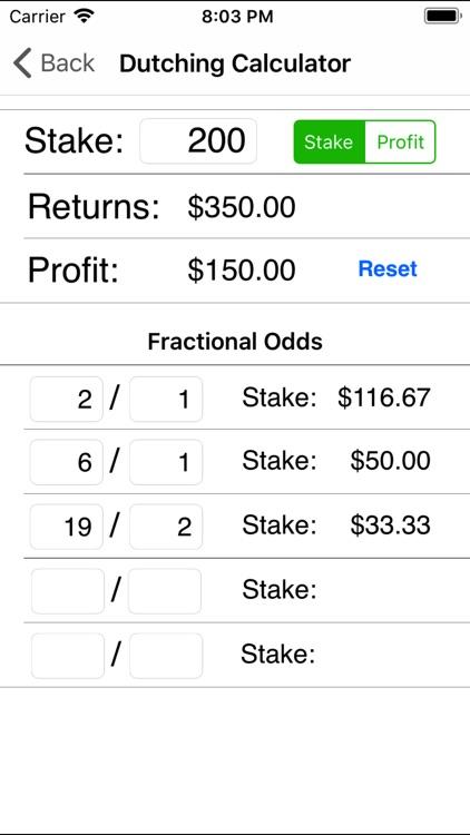 Bet Settler - Betting Calc screenshot-4