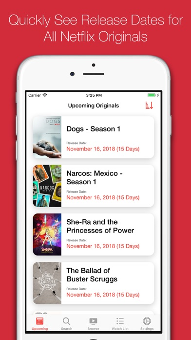 Original Release for Netflix IPA Cracked for iOS Free Download